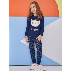 Roly Poly Age 1-4 Girl Slumber Navy Blue Team