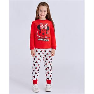 Minnie Mouse Girl Slumber 5-8 Years Red Team