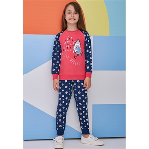 Roly Poly Tongue In Cheek A Pajama Outfit Girl 5-8 Years