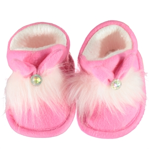 Çalışkan 20-30 Number Panduf Girl Child Pink