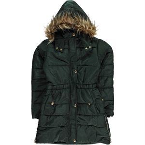 Civil Girls Khaki Hooded Jacket Girl Age 10-13
