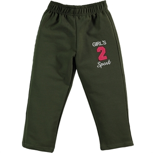 Civil Girls Khaki Sweatpants 2-3 Years Old Girl