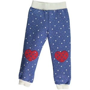 Cvl 2-5 Years Girl Purple Sweatpants