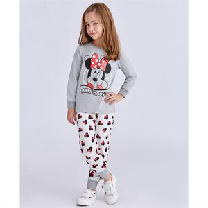 Minnie Mouse Age 1-4 Girl Slumber Gray Team