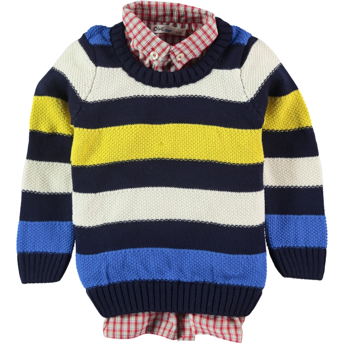Civil Boys 2-5 Years Navy Blue Boy's Sweater