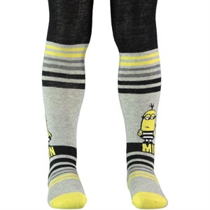 Minions Grey Pantyhose Boy Age 1-5