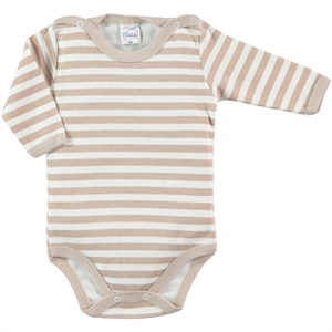 Misket Brown 1-18 Months Baby Bodysuit With Snaps