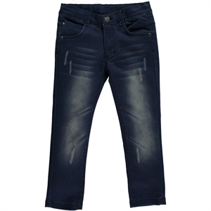 Timo The Ages Of Boy Pants 6-9 Dark Blue