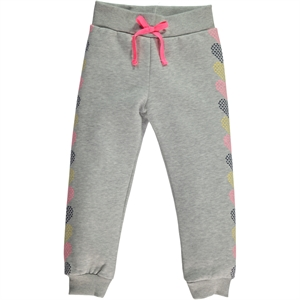 Cvl Gray Sweatpants On The Bottom Of The Girl Child 2-5 Years