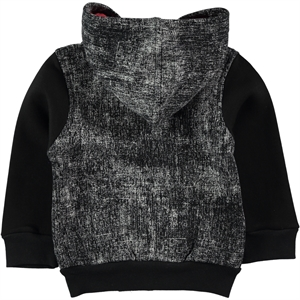 Haliş Boy Hooded Cardigan Black 2-5 Years (3)