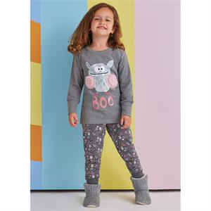 Roly Poly Age 1-4 Girl Slumber Gray Team