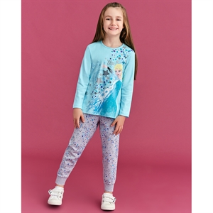 Disney Frozen Girl Slumber The Ages Of 3-8 Team Turquoise
