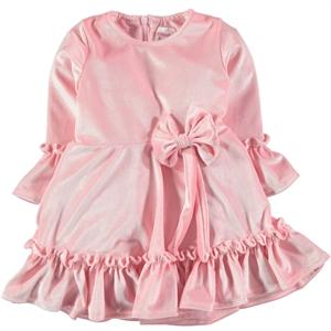 Missiva Kız Çocuk Elbise 6-9 Yaş Pembe