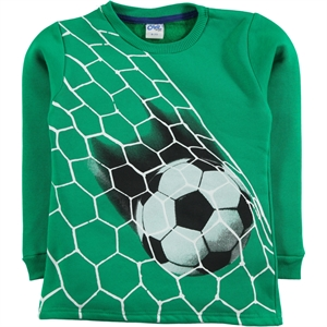 Civil Boys Sweatshirt Boy 6 - 9 Years Yesil