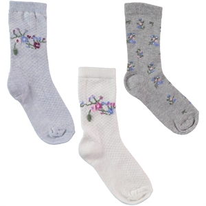 Civil Girls Girl 3-way Socket Sock Ecru the ages of 2-12