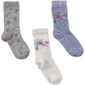 Civil Girls Girl 3-way Socket Sock Ecru the ages of 2-12