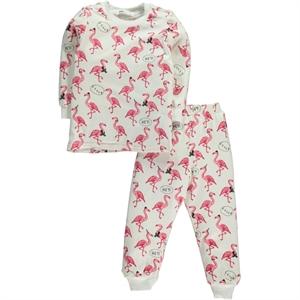 Civil Girls A Pajama Outfit Age 6-9 Girl Cvl Ecru