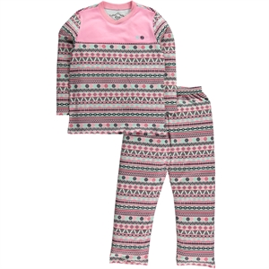 Cvl A Pajama Outfit Pink Girl Age 6-9