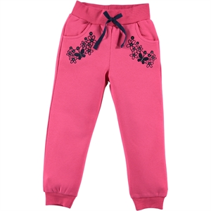 Cvl Fuchsia Girl Boy Tracksuit Bottom Age 2-5