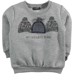 Tuffy Age 1-4 Boy Gray Sweatshirt