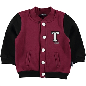 Tuffy Age 1-4 Boy Cardigan Burgundy