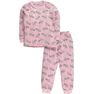 Civil Girls A Pajama Outfit Age 6-9 Girl Cvl Powder