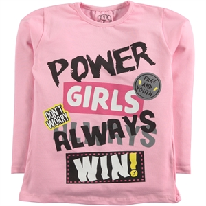 Civil Girls Sweatshirt Pink Girl Kids Age 6-9