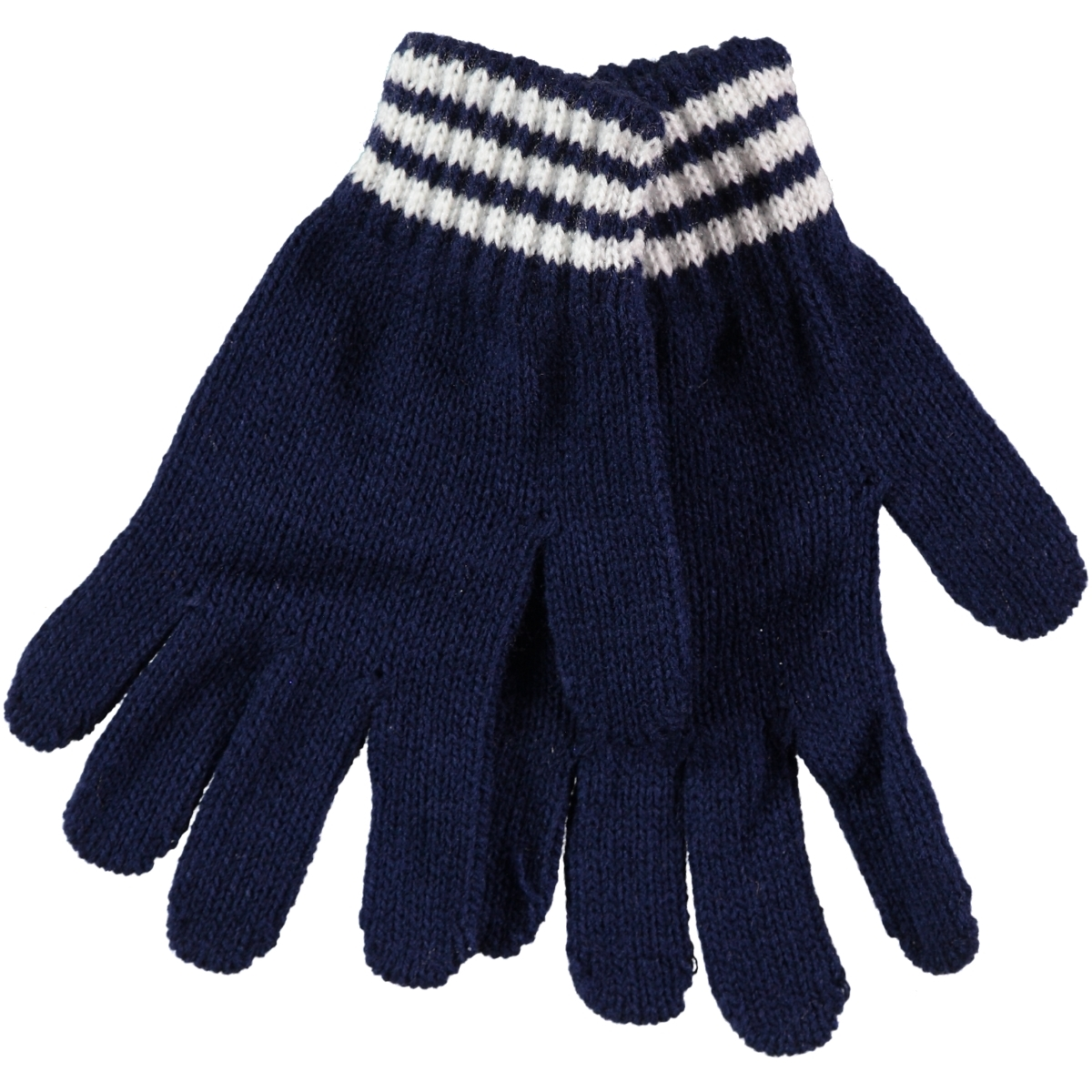 Suve Navy Blue Kid Gloves 2-5 Years