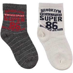 Civil Boy 2-set gray socks 3-11 years