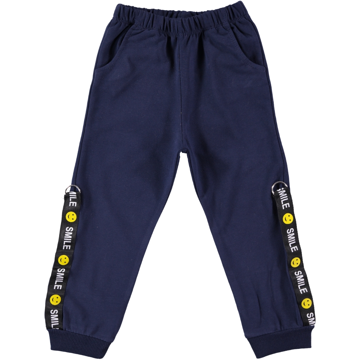 Miss Tuffy Navy Blue Sweatpants Girl, Ages 3-6