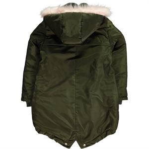 Civil Girls Girl Khaki Hooded Jacket Age 6-9 (2)
