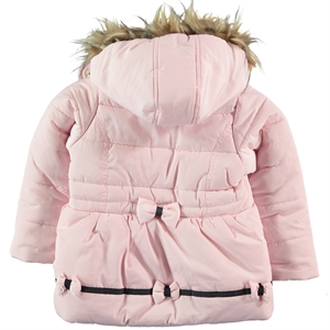 Civil Girls The Powder Pink Girl Hooded Jacket Age 2-5 (2)