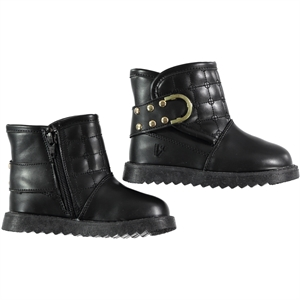 Vicco Boots Black Girl Boy 26-30 Numbers