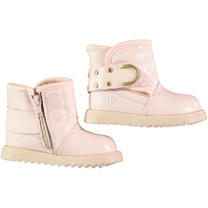 Vicco Boots Powder Pink Number Boy Girl, 22-25