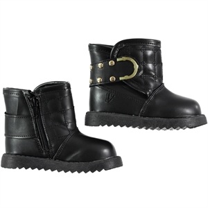 Vicco 22-25 Boots Black Boy Girl Number