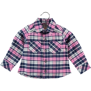 Timo Baby Girl 6-24 Months Pink Shirt