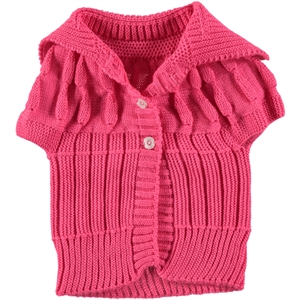 Civil Girls Age 1-5 Child Girl Vest Fuchsia (1)