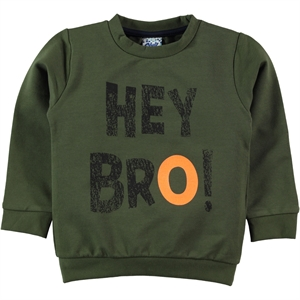 Civil Boys Boy Age 2-5 Khaki Sweatshirt