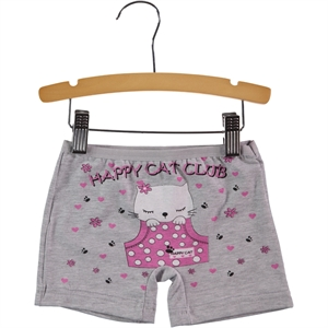 Öts Age 2-12 Girl Child Underwear Grey