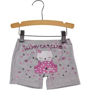 Öts Age 2-12 Girl Child Underwear Grey