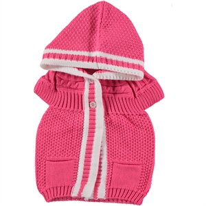 Civil Girls Hooded Fuchsia Vest Girl Age 1-5