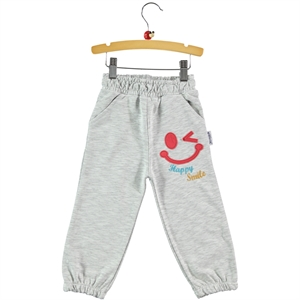 Gülücük Gray Sweatpants Boy 2-5 Years