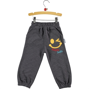 Gülücük Boy Sweatpants 2-5 Years Smoked
