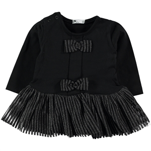 Miss Tuffy 9-24 Months Baby Girl Dress Black