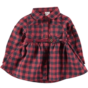 Civil Baby 6-18 Months Baby Girl Red Dress