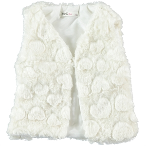 Civil Girls Girl Child White Vest 2-5 Years