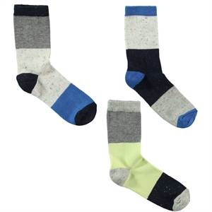 Civil Boys Boy 3-way Socket Sock dark blue Ages 2-12