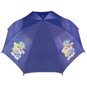 Rubenis Saks Blue Umbrella Girl