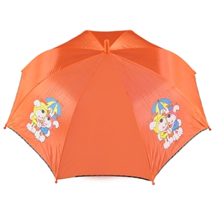 Rubenis Girl With Orange Umbrella
