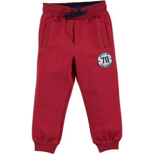 Cvl 2-5 Years Boy Tracksuit Bottom Burgundy